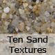 An Array of Ten Sand Textures - GraphicRiver Item for Sale