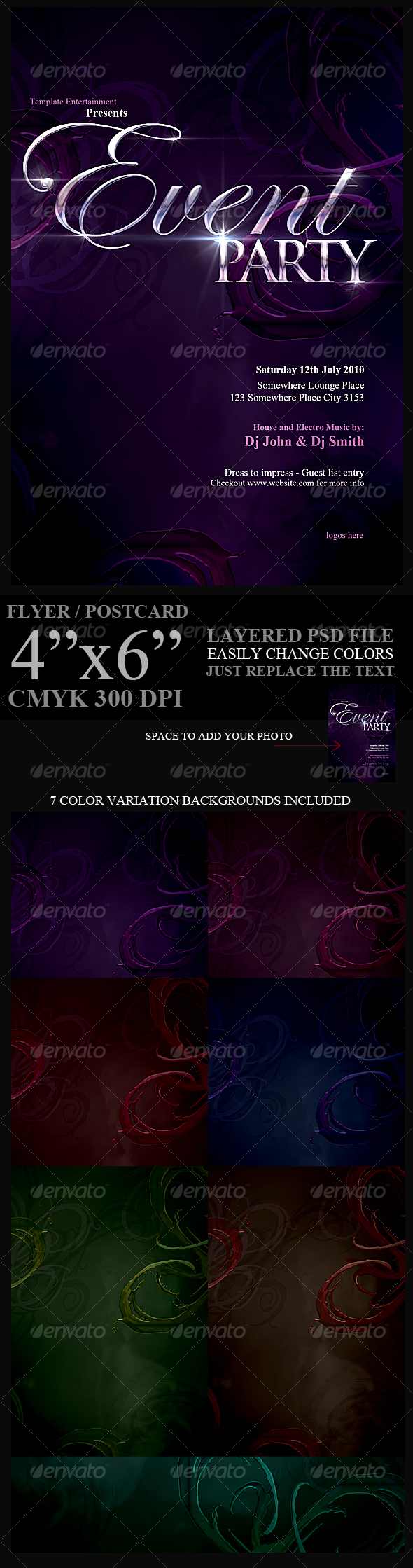 GraphicRiver Flyer Template 109711