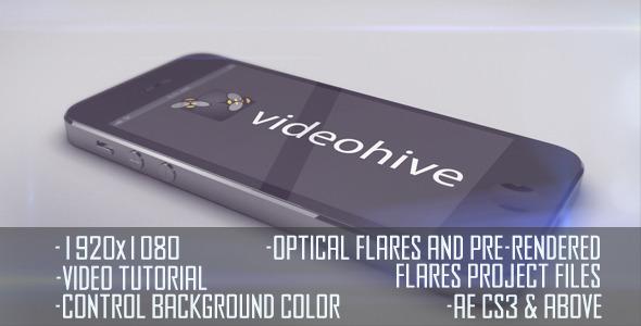 VideoHive iPhone 5 Horizontal Logo Display 3096551