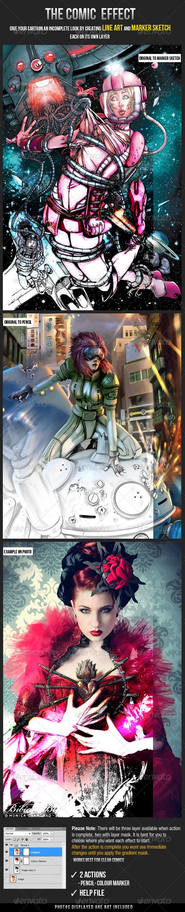 GraphicRiver The Comic Effect 3097503