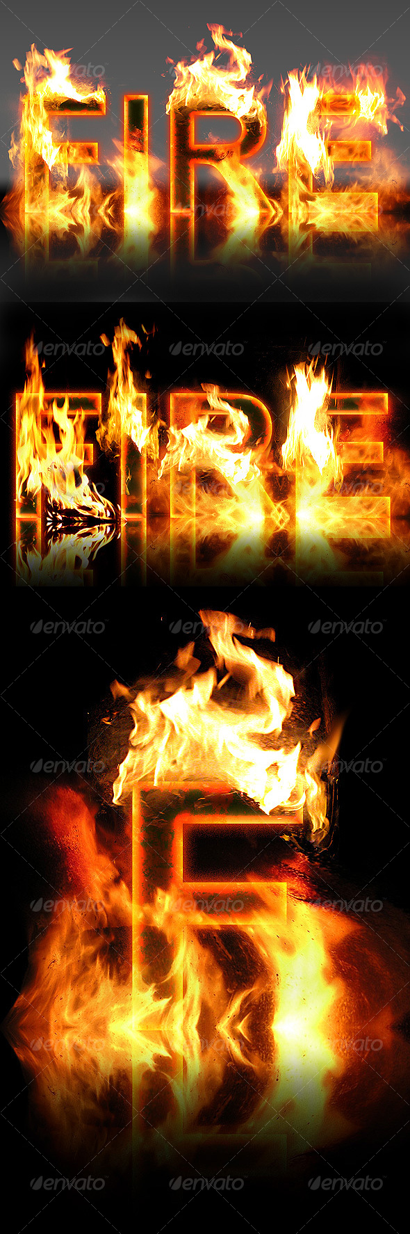 GraphicRiver Real Fire Text Creator 109754