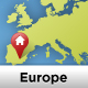 Europe Vector Map - GraphicRiver Item for Sale