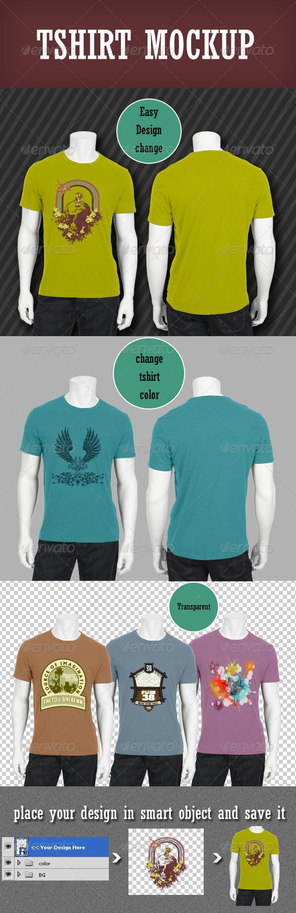 GraphicRiver Tshirt Mockup 3101459