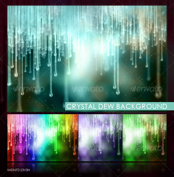 GraphicRiver Crystal Dew Background 109967