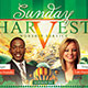 Sunday Harvest: Church Flyer and CD Art Template - GraphicRiver Item for Sale