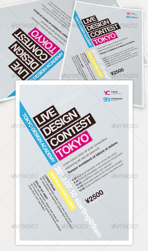 GraphicRiver Get Minimal Flyer 02 108168
