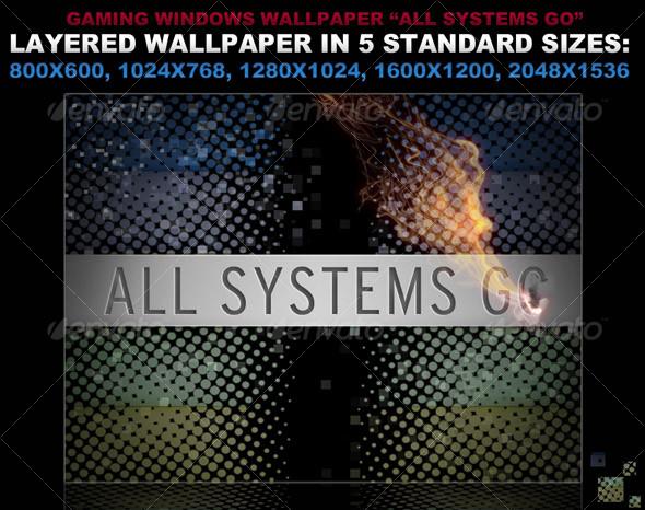GraphicRiver Editable Wallpaper in 5 sizes 110003