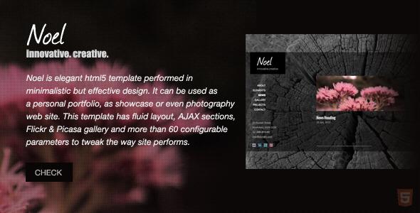 ThemeForest - Noel - Onepage AJAX Template