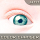 Eye color changer. PS ACTION. - GraphicRiver Item for Sale