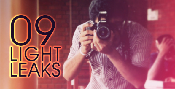 VideoHive Light Leaks FULL HD 3096977