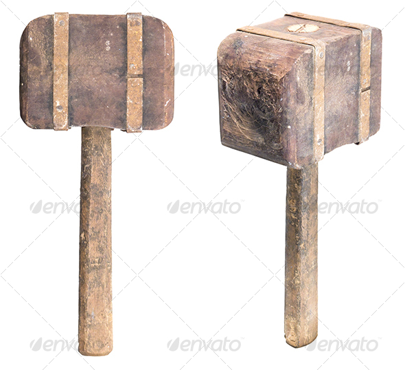 GraphicRiver Wooden Mallet 110044