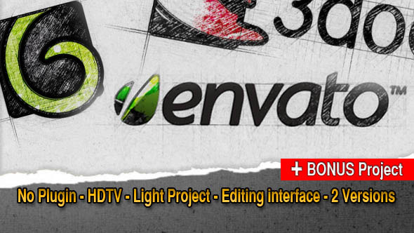 VideoHive Logo Tracer 3113313