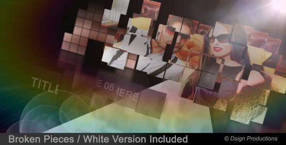 After Effects Project - VideoHive Broken Pieces 3087193