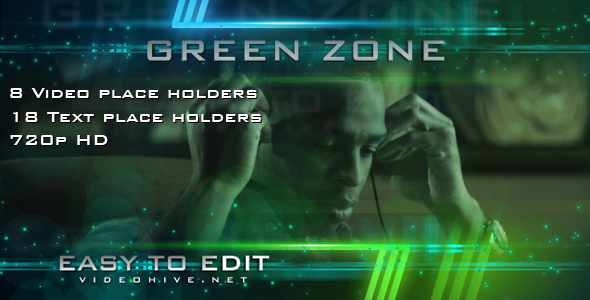 After Effects Project - VideoHive GREEN ZONE 110376