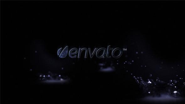 VideoHive Water drops logo 3121967