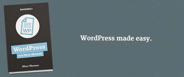TutsPlus WordPress for Mere Mortals 3122542