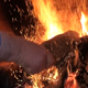 Maintaining The Fire In The Fireplace - VideoHive Item for Sale
