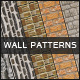 Seamless Walls - Photoshop Patterns - GraphicRiver Item for Sale