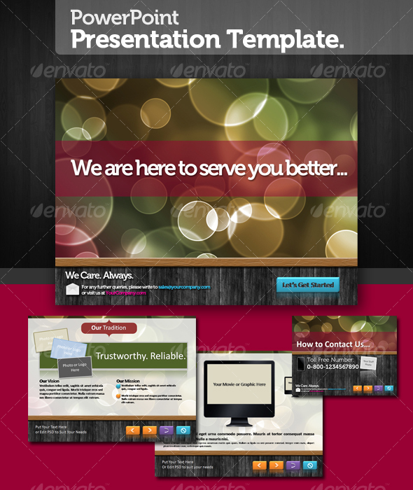 GraphicRiver Perfecto PowerPoint Presentation Template 108035