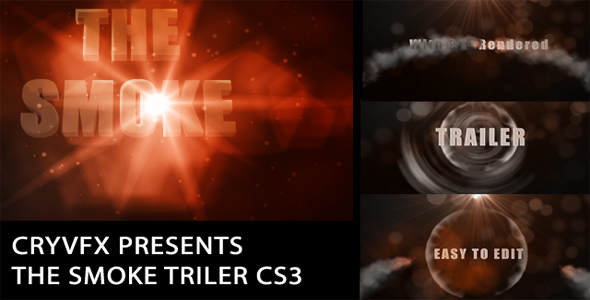 After Effects Project - VideoHive The Smoke Trailer 110847