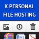K Personal File Hosting - CodeCanyon Item for Sale