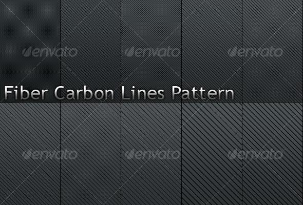 GraphicRiver Fiber Carbon Line Patterns-Vol.2 109757