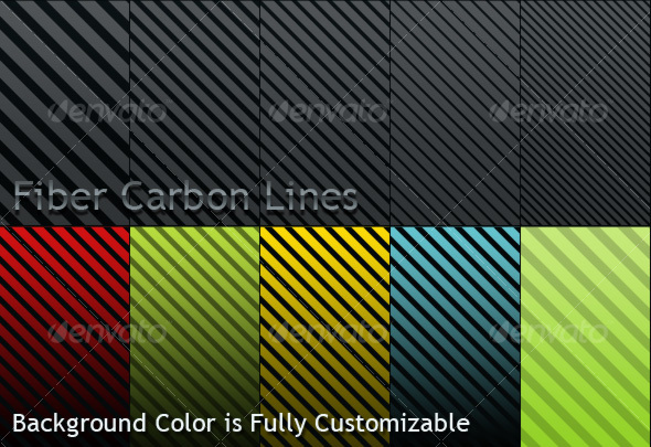 GraphicRiver Fiber Carbon Lines Pattern Vol-1 109756