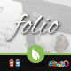 Folio - a single page portfolio template - ThemeForest Item for Sale