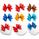 Big collection of colorful gift bows and labels - GraphicRiver Item for Sale