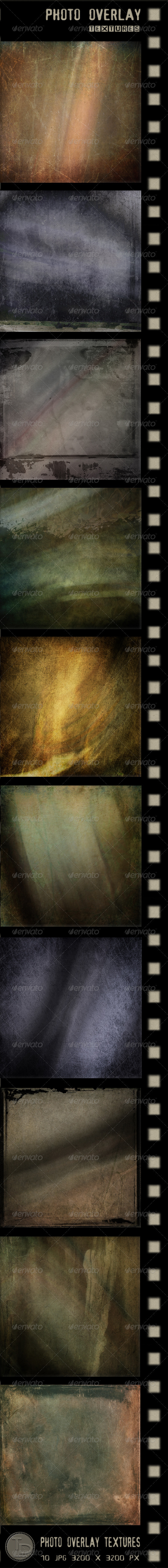 GraphicRiver Photo Overlay Textures 2580031