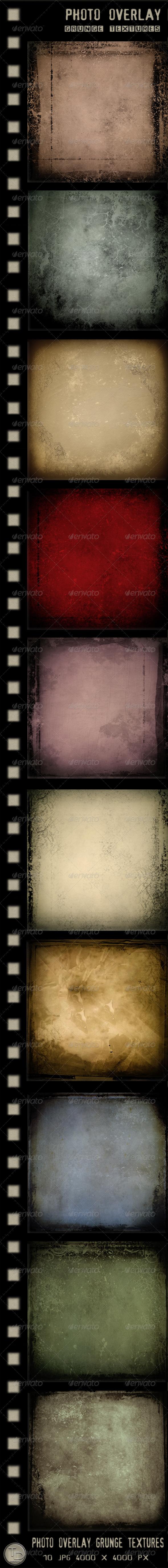 GraphicRiver Photo Overlay Grunge Textures 2798664