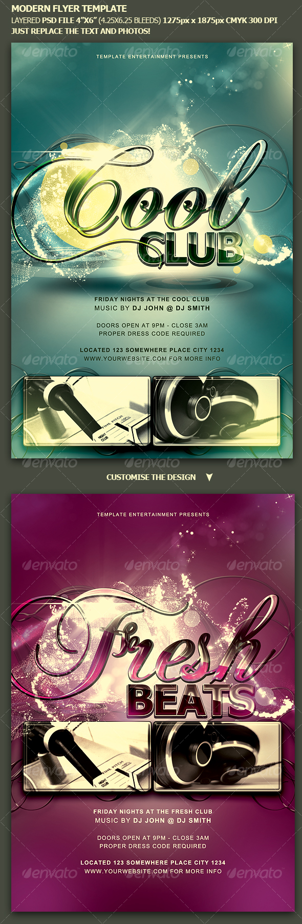 GraphicRiver Modern Flyer Template 111237