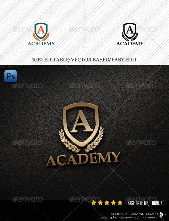 GraphicRiver Academy Logo Template 3099336