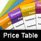 Web Pricing Table - GraphicRiver Item for Sale