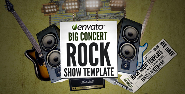 After Effects Project - VideoHive Big Event Rock version 324522