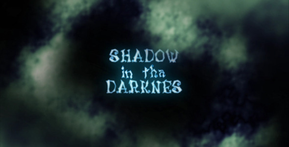 VideoHive Halloween Shadow In The Darkness 3156422