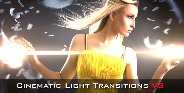 Cinematic Light Transitions V2 - 10 pack - 1