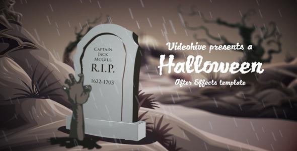 VideoHive Halloween Castle 3158625