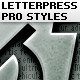 Letterpress Text Pro Styles - GraphicRiver Item for Sale