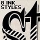 INK Styles - GraphicRiver Item for Sale