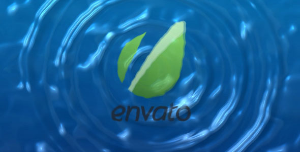 VideoHive Water Drops Logo Reveal 2656889