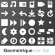 Geometrique Icon Set (50 Vector Icons) - GraphicRiver Item for Sale