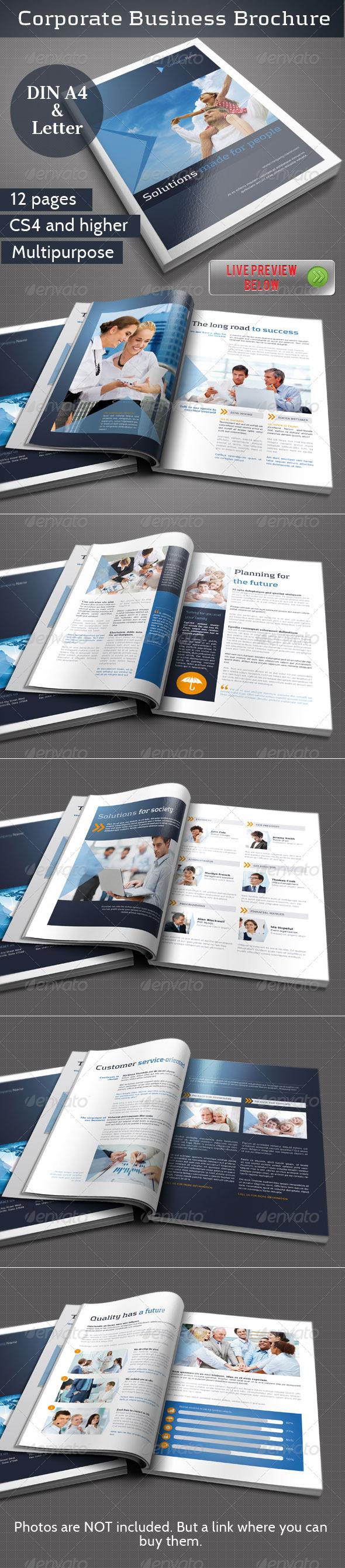GraphicRiver Corporate Business Brochure Vol II 3160634