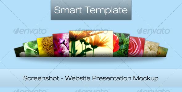 GraphicRiver Screenshot Web Presentation Mockup 111741