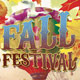 Fall Festival Church Flyer, CD and Ticket Template - GraphicRiver Item for Sale