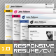 Devito Resume Responsive Template - ThemeForest Item for Sale