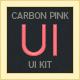 Carbon Watermelon UI Kit - GraphicRiver Item for Sale