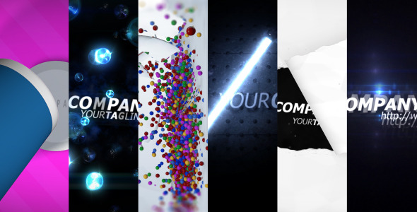 After Effects Project - VideoHive HQ LogoPack v.1 6 styles 308622