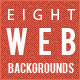 8 High Resolution Web Backgrounds - GraphicRiver Item for Sale