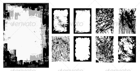 GraphicRiver Grunge Backgrounds 112028